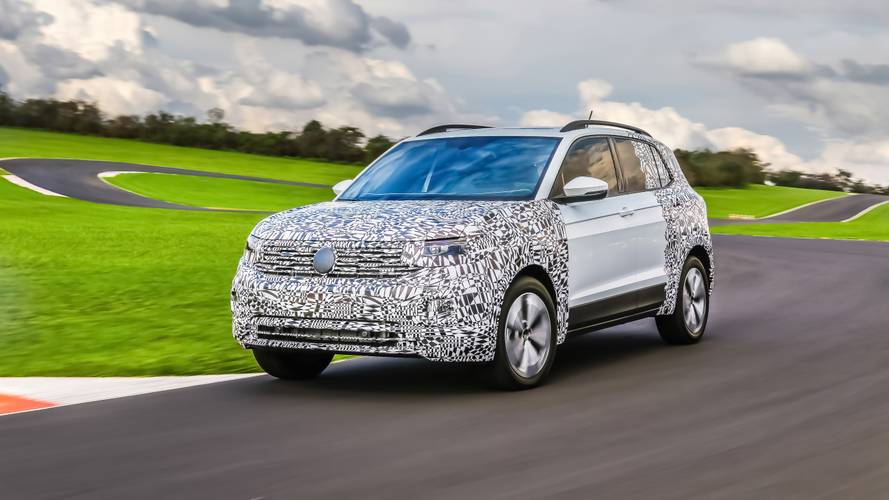 Volkswagen T-Cross 2019 con camuflaje