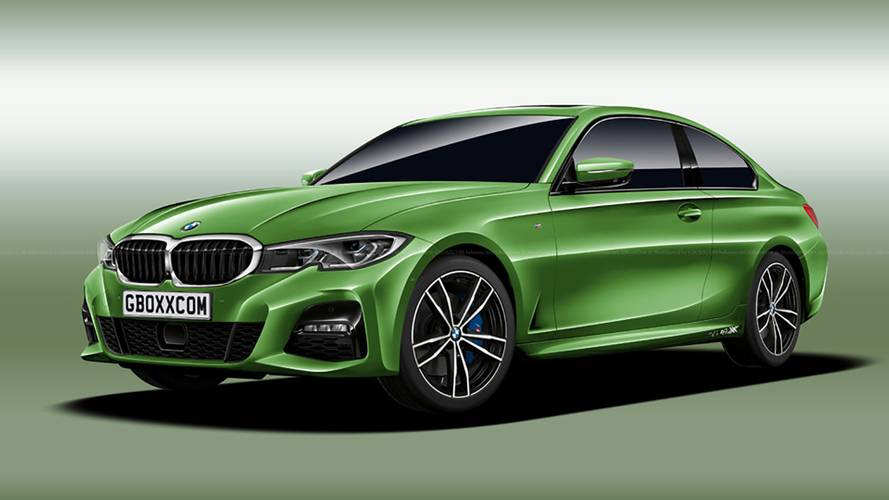BMW 4 Series Rendering Steals The Best Parts Of The New 3 Series
