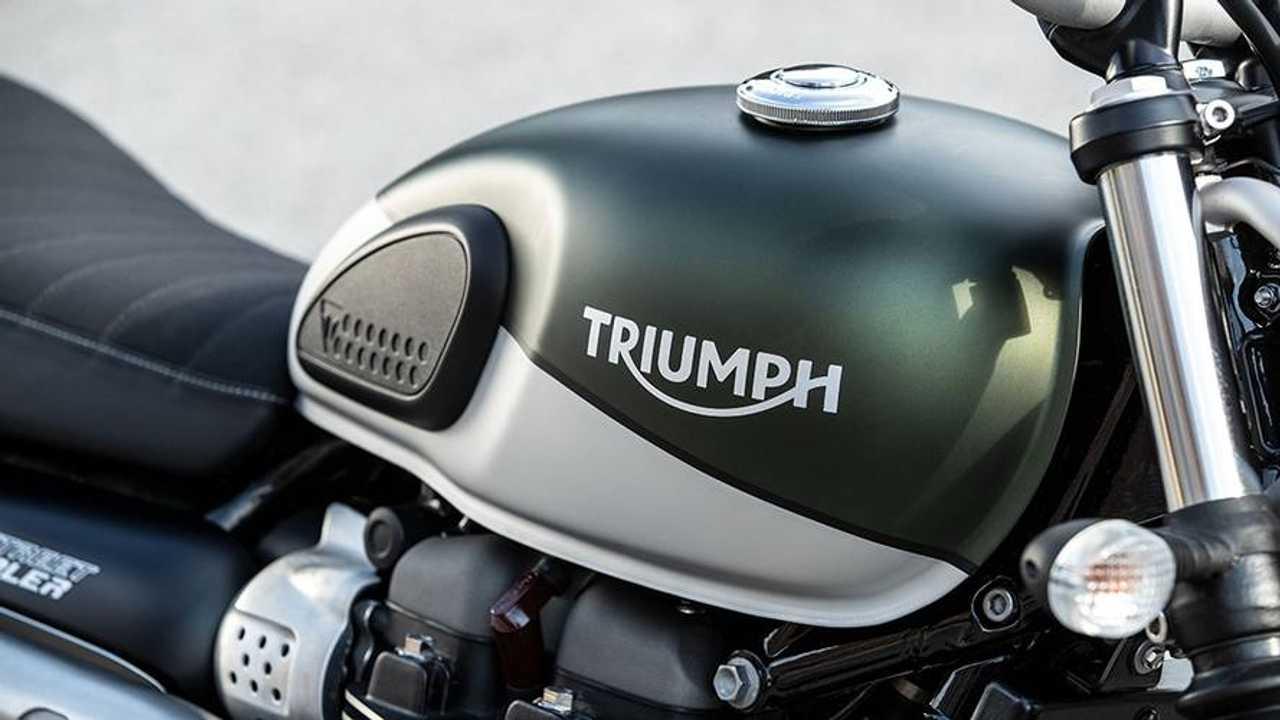 2019 Triumph Street Scrambler