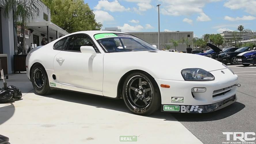 See Road-Legal, 1800-HP Toyota Supra Do Quarter Mile In 7 Seconds