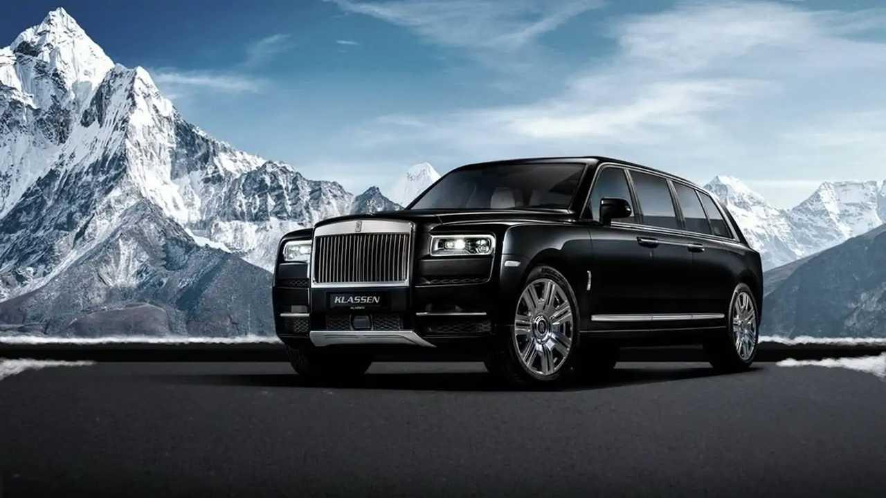 Rolls-Royce Cullinan stretched by Klassen