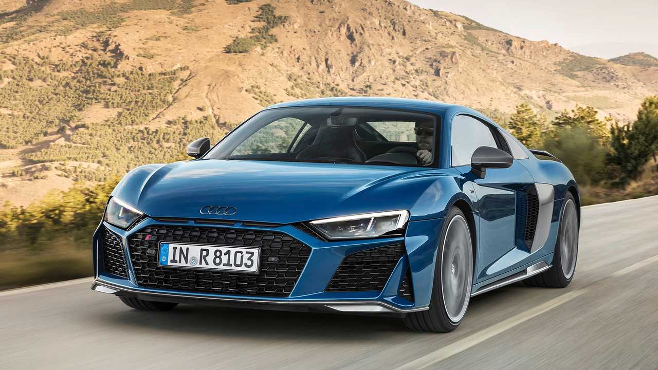 audi r8 refreshed with sharper look and up to 612 hp