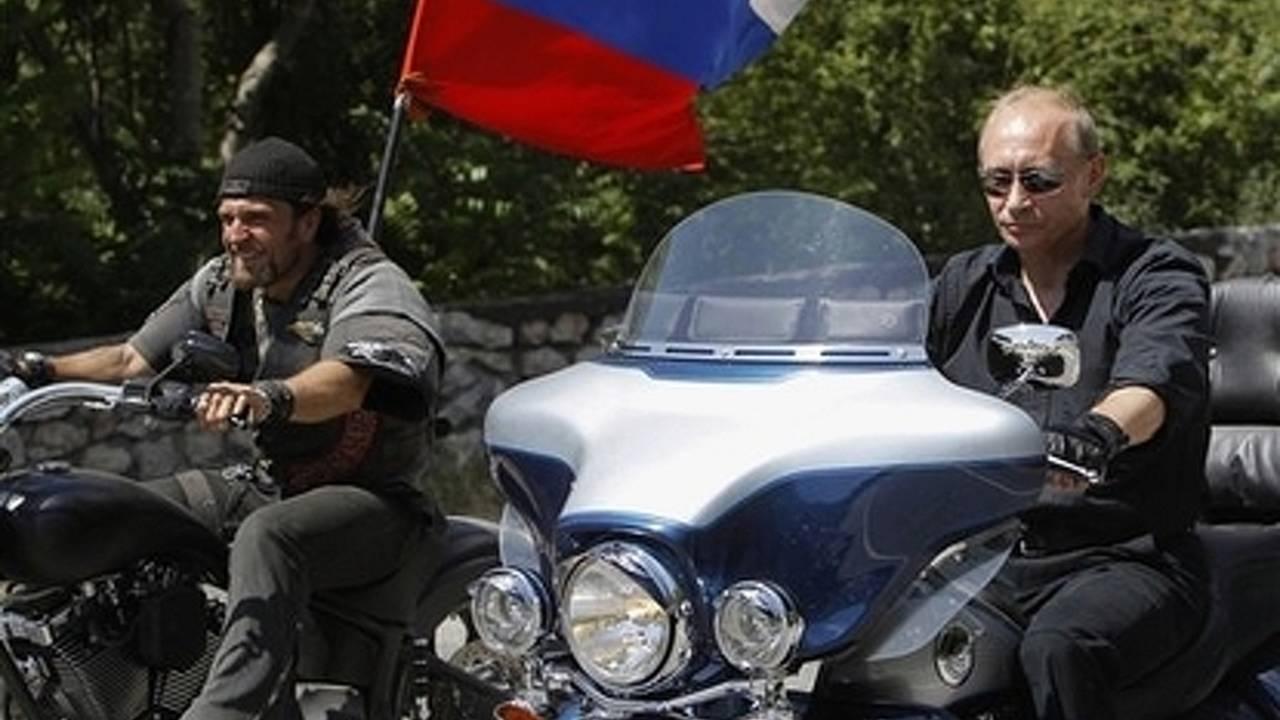 Vladimir Putin Badass Biker