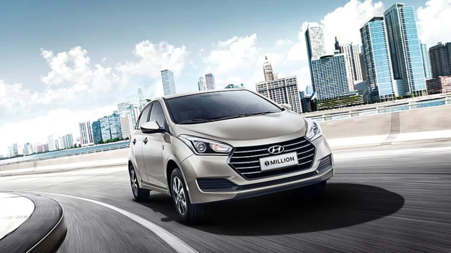 """Hyundai HB20 e Creta """"edição 1 Million"""" partem de R$ 63.390; veja preços"""