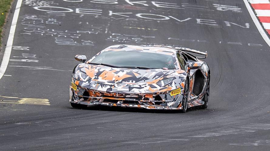 Lamborghini Aventador SVJ, la più veloce al Nurburgring