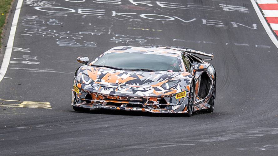 Lamborghini Aventador SVJ Nürburgring Rundenrekord