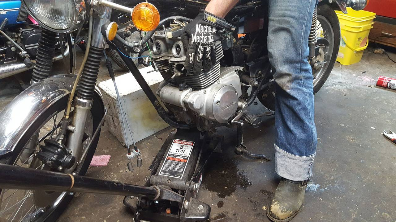 Honda CB200 Top End Build