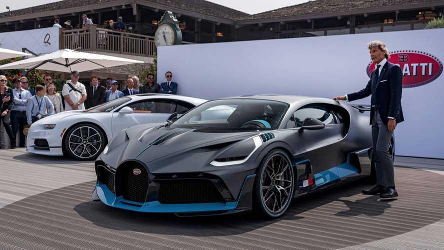 Nouvelles photos de la Bugatti Divo