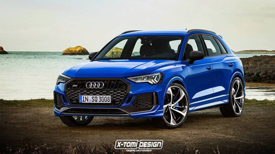 2019 Audi Q3 Rendered In RS Trim Looks Fantastic