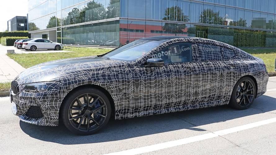 BMW 8 Serisi Gran Coupe ilk kez trafikte görüntülendi