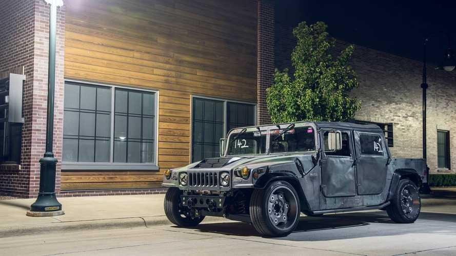 Pályaspecifikus Hummer H1-et készített egy amerikai tuningműhely