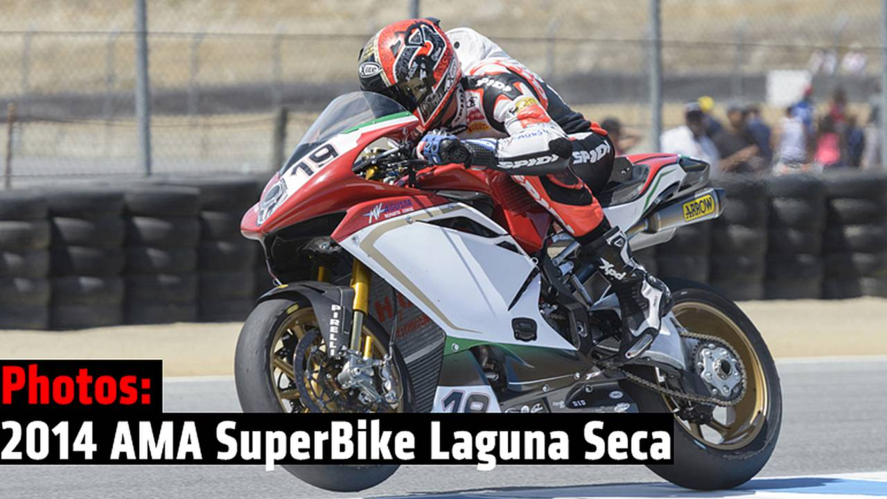 Around the Pits: 2014 AMA SuperBike Laguna Seca