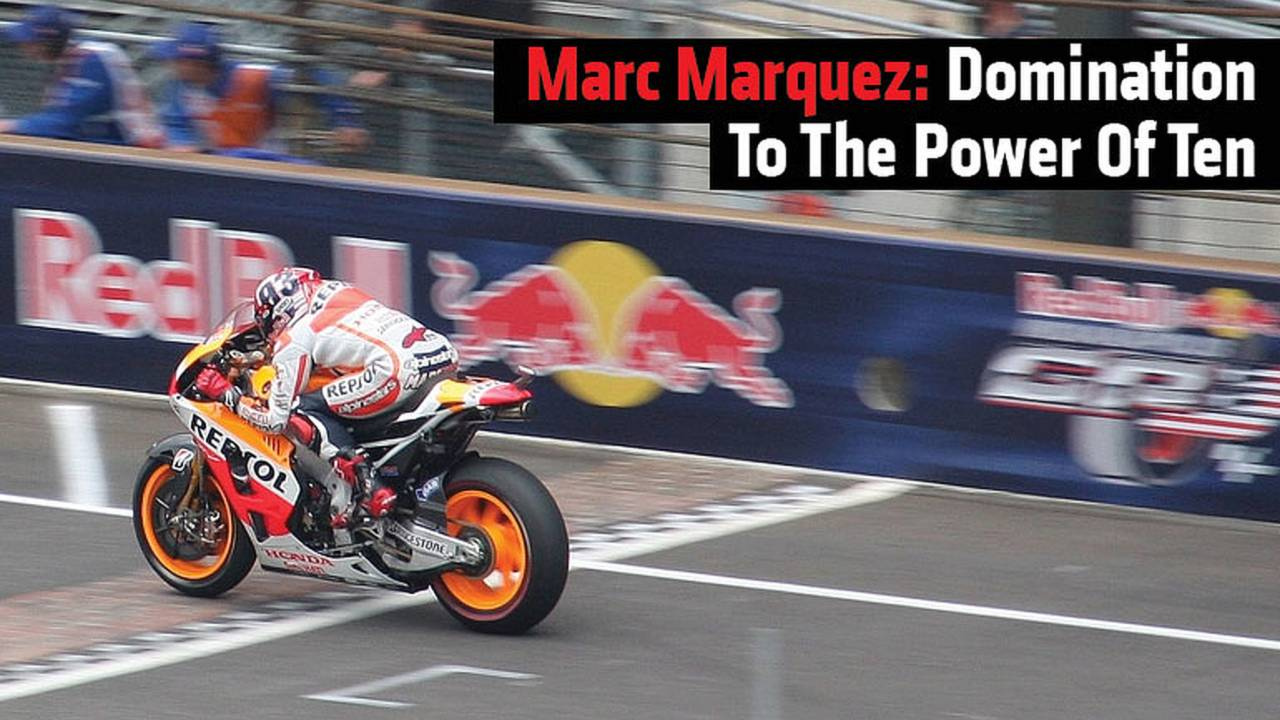 Marc Marquez: Domination To The Power Of Ten