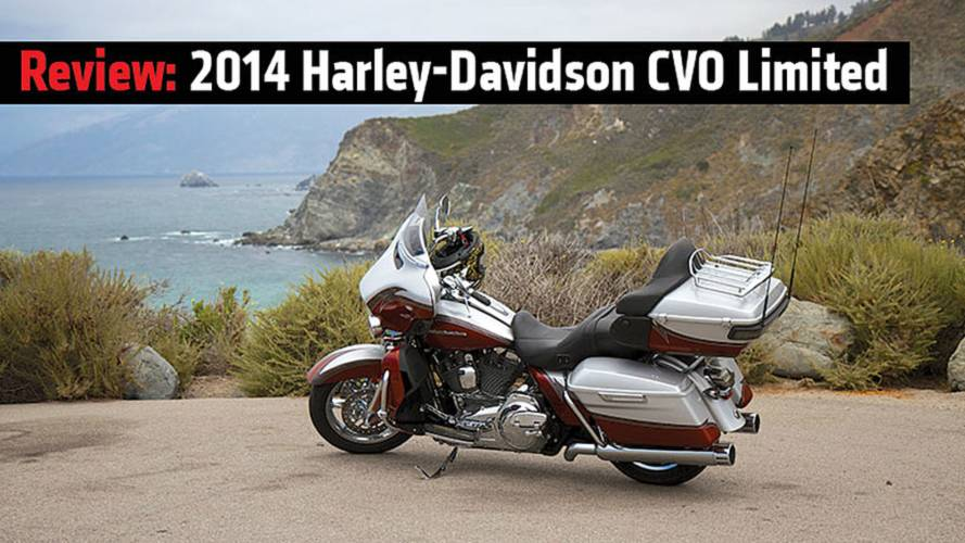 Review: 2014 Harley-Davidson CVO Limited