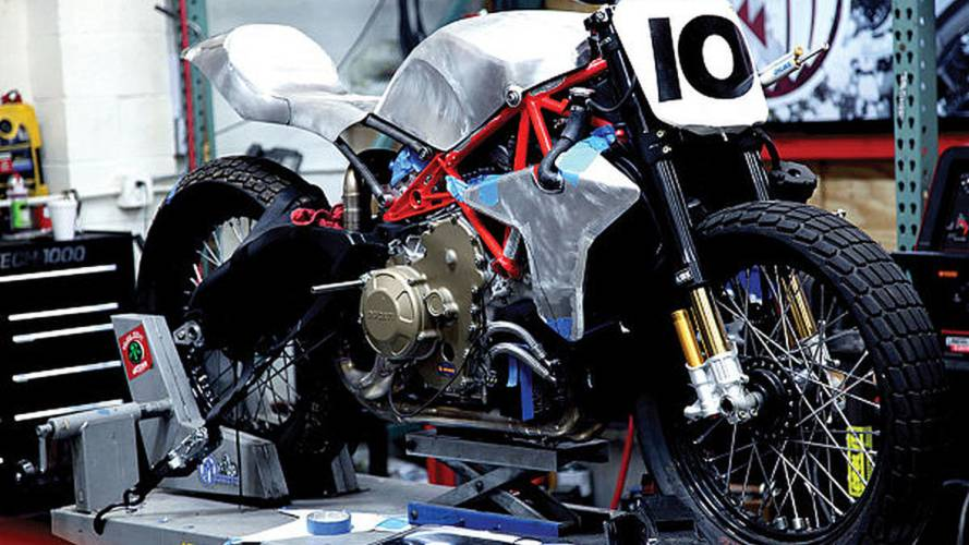 From MotoGP to the Indy Mile: Roland Sands' Desmo Tracker