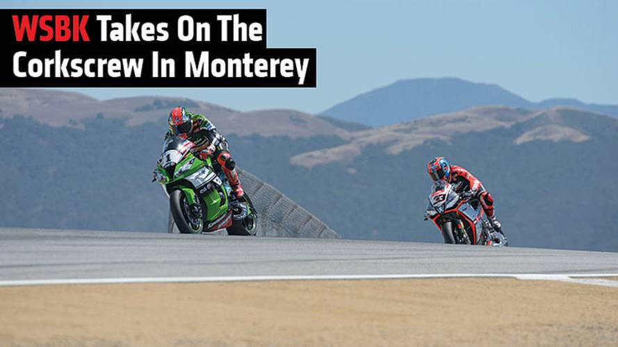 WSBK Takes On The Corkscrew In Monterey