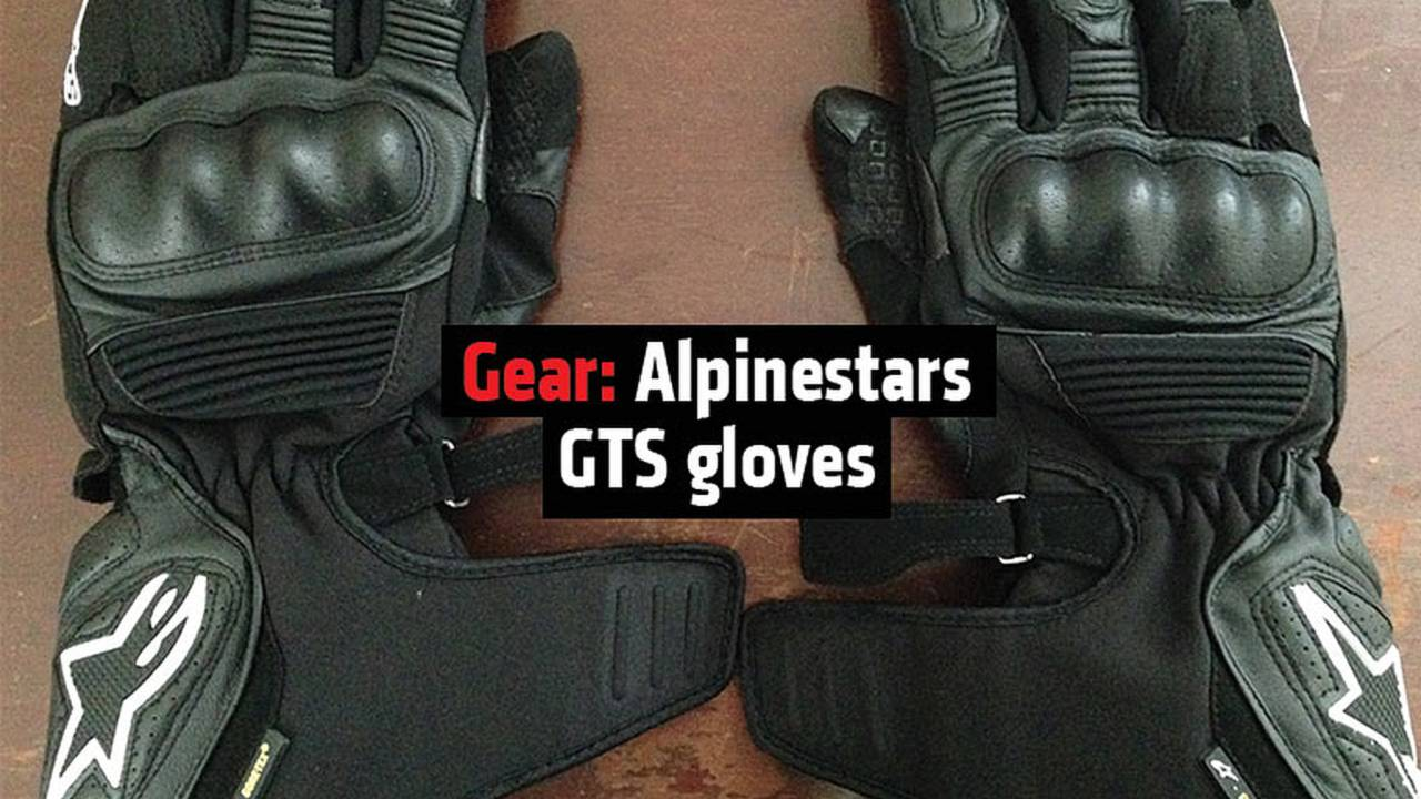 Gear: Alpinestars GTS Gloves