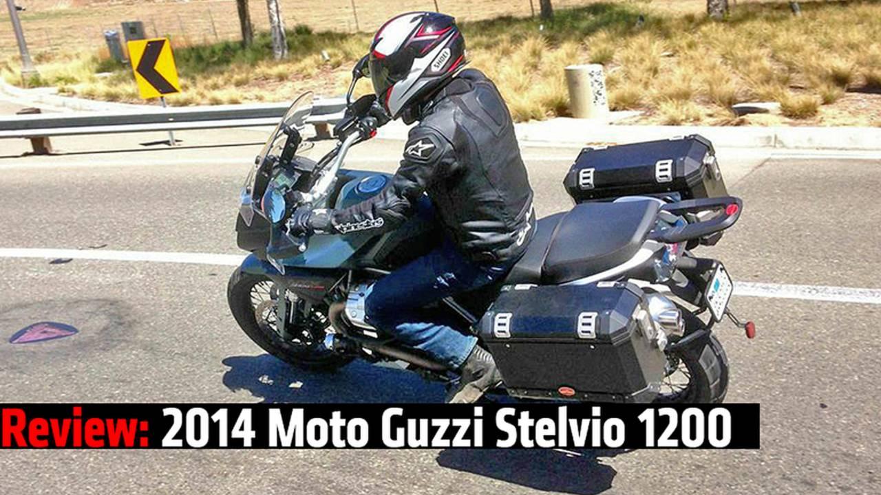 Review: 2014 Moto Guzzi Stelvio 1200