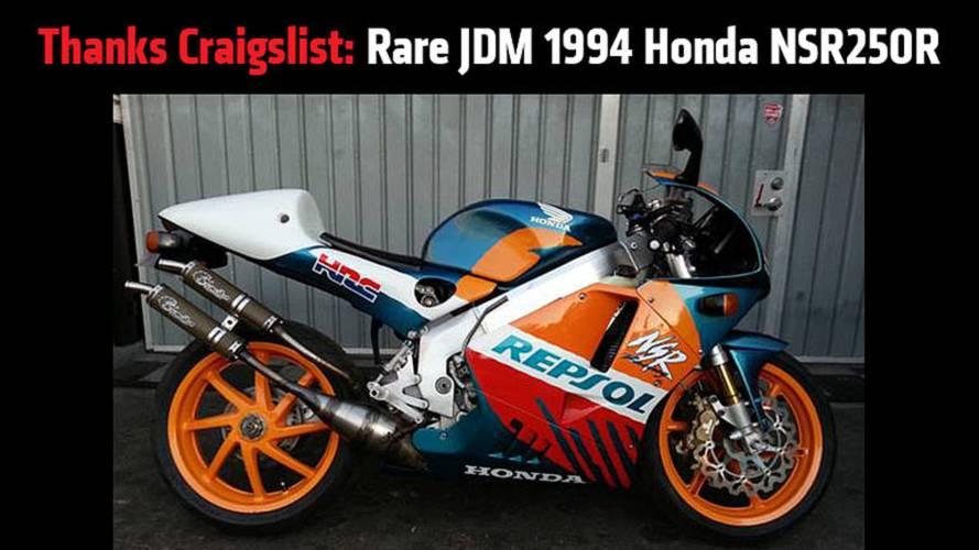 Thanks Craigslist: Rare JDM 1994 Honda NSR250R