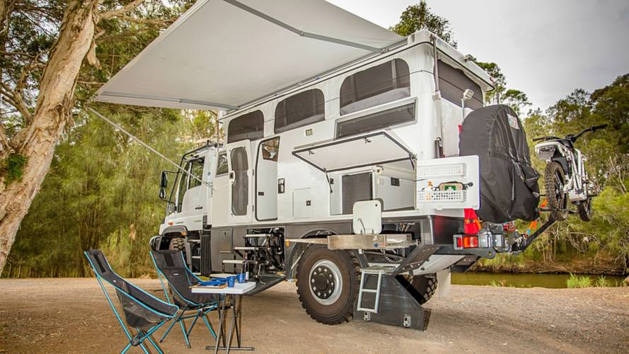 This Mercedes Unimog Camper Is The Ultimate Go-Anywhere RV