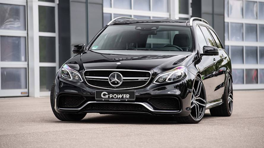 Mercedes-Benz E63 S Wagon Gets An 800-HP Upgrade By G-Power