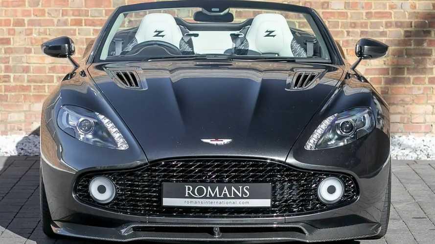 Un Aston Martin Vanquish Zagato Volante, a la venta