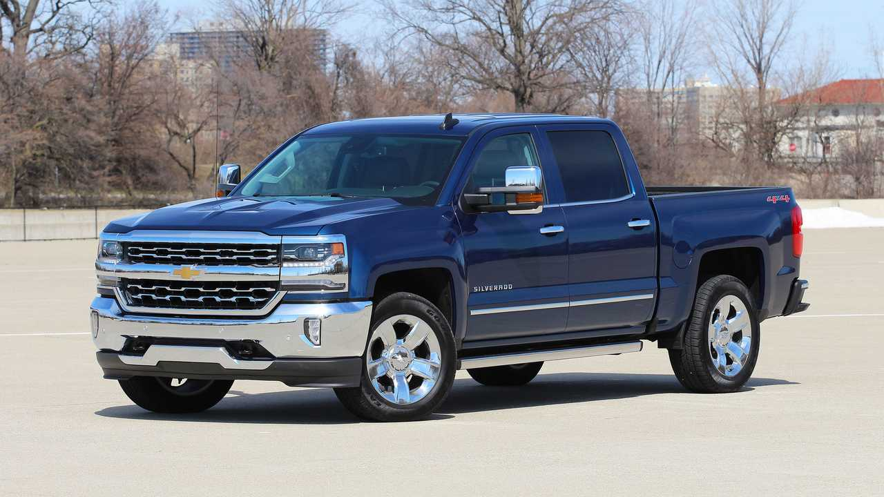 6. Chevrolet Silverado 1500: 1.9 Percent