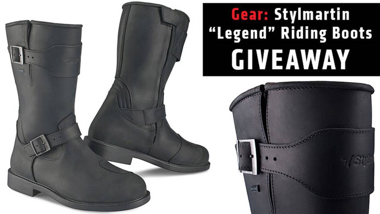 Gear: Stylmartin Riding Boots