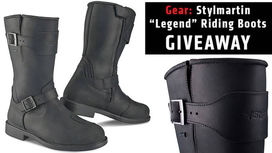 Gear: Stylmartin Riding Boots
