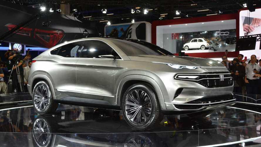 Sleek Fiat Fastback SUV concept debuts in Brazil