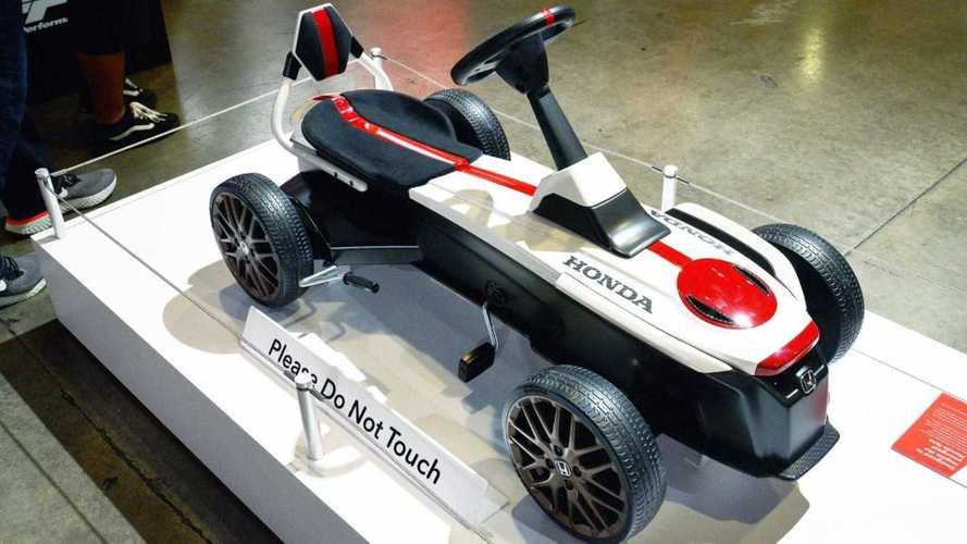 Honda presenta un coche de pedales, inspirado en un concept de 2015