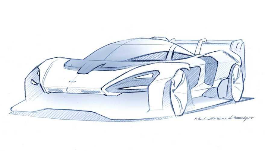 McLaren готовит трековый Senna GTR
