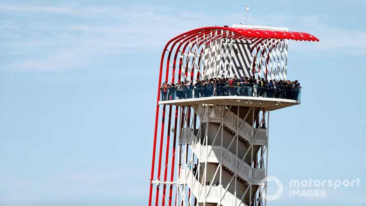 Observation tower US GP 2018