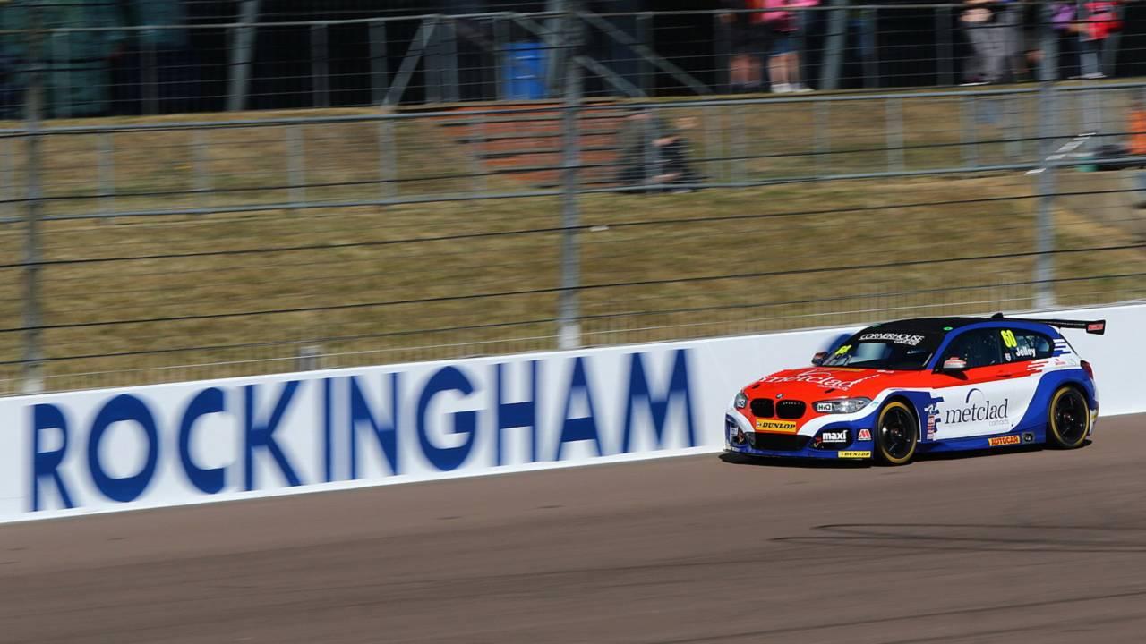 Stephen Jelley, Team Parker Racing BMW, Rockingham
