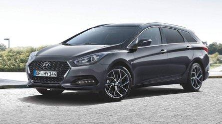 Kívül-belül megújult a Hyundai i40 szedán és kombi változata