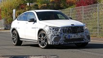 2019 Mercedes-AMG GLC 63 Coupe Spied