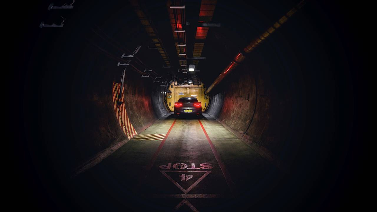 Jaguar I-Pace takes on the channel tunnel