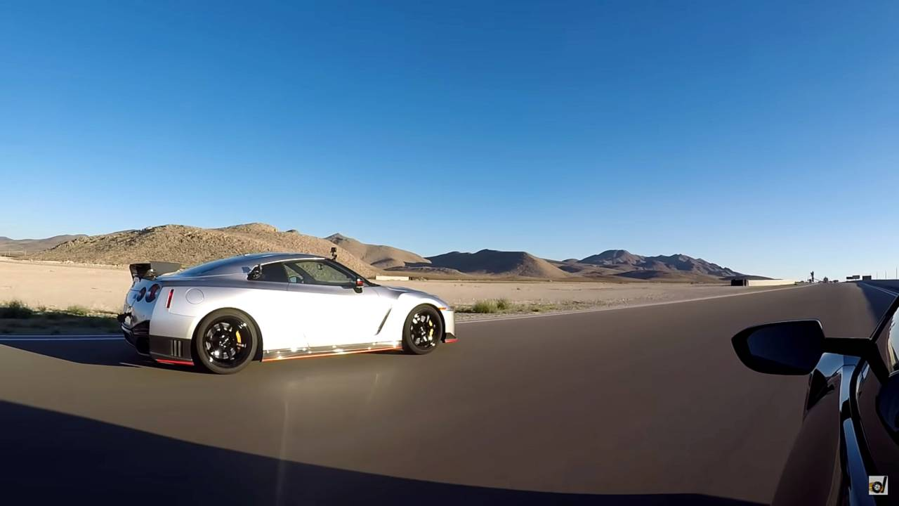 Acura NSX Vs Nissan GT-R Nismo