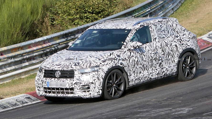 VW T-Roc R Teaser Shows The Sporty Crossover At The 'Ring