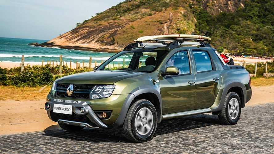 Renault Duster Oroch 4x4 entra em pré-venda no Uruguai