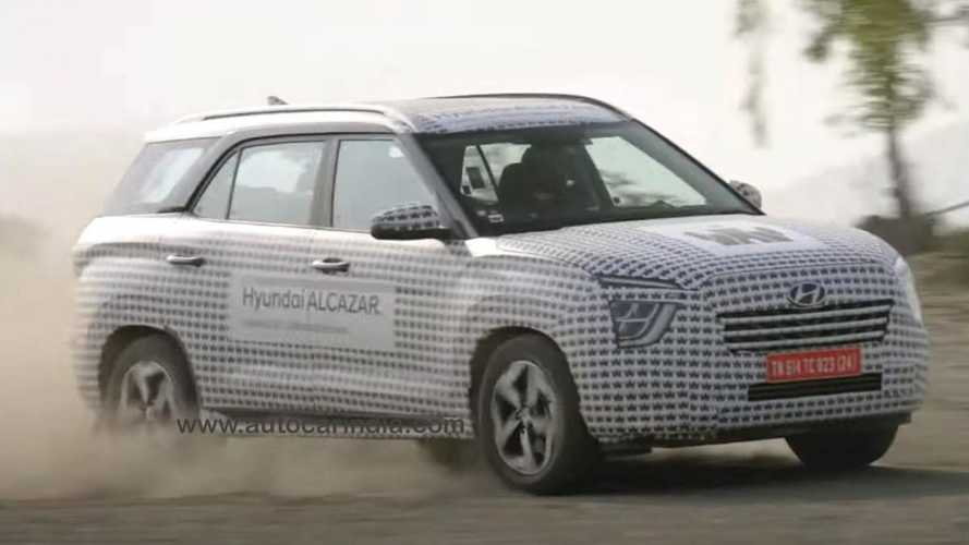 Hyundai Alcazar: Creta de 7 lugares terá motores 2.0 gasolina e 1.5 diesel
