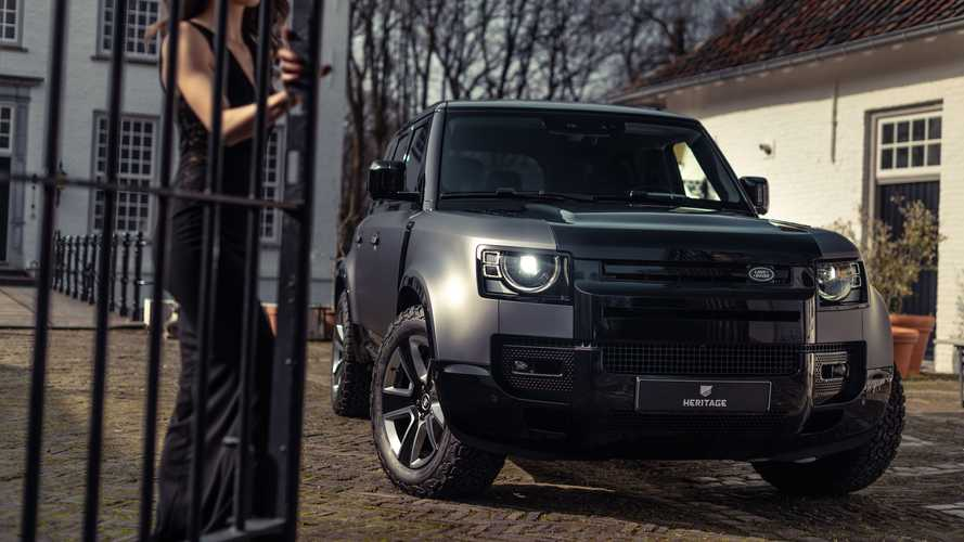 Land Rover Defender, su misura con Heritage Customs