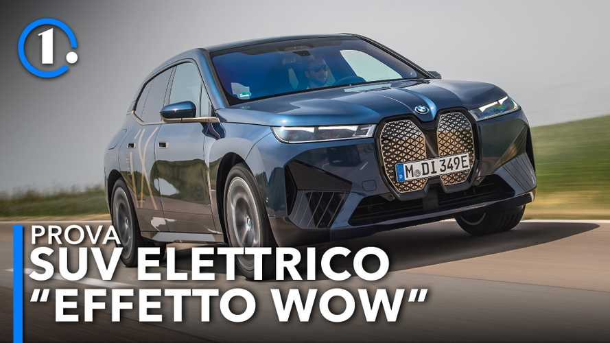 BMW iX, la prova dell'ammiraglia elettrica bavarese