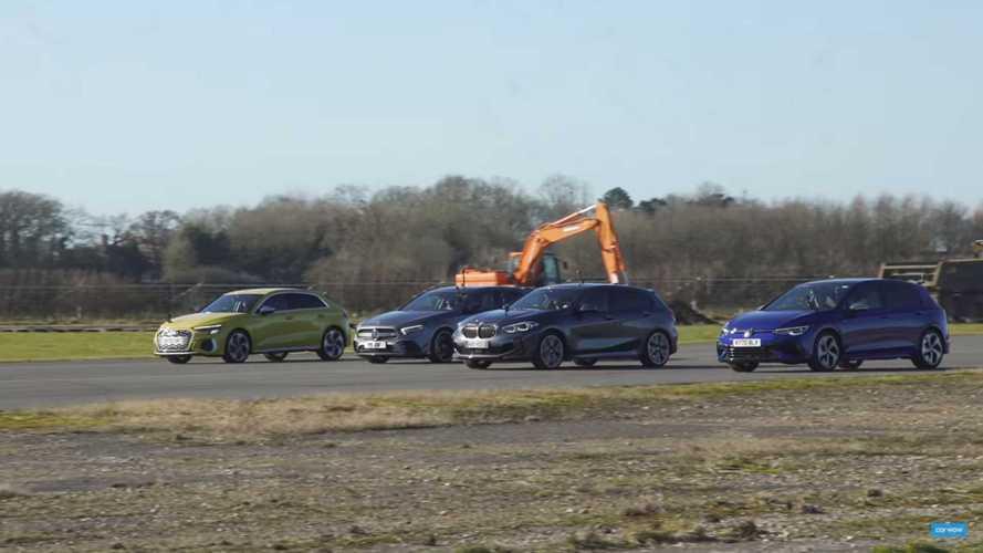 Vidéo - Qui a dit que la nouvelle VW Golf 8 R n'était pas rapide ?