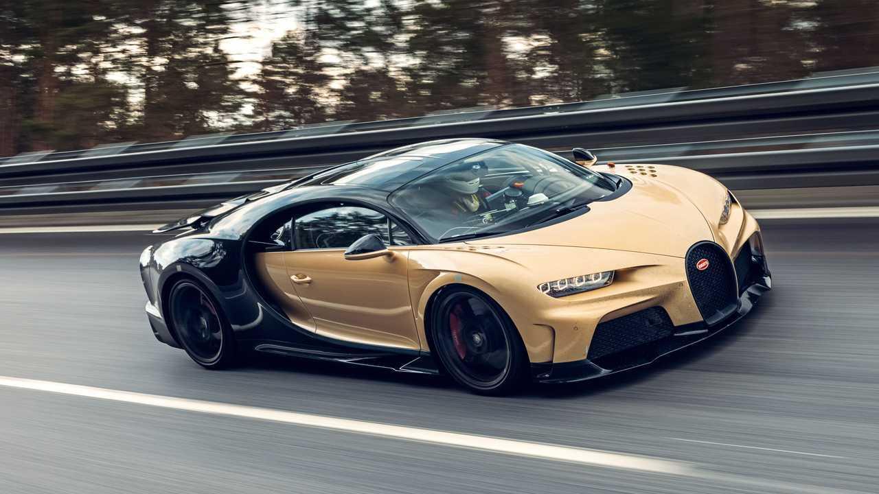 Der Bugatti Chiron Super Sport bei finalen Abstimmungsfahrten
