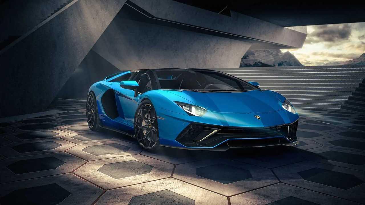 Lamborghini представила «прощальные» купе и родстер Aventador