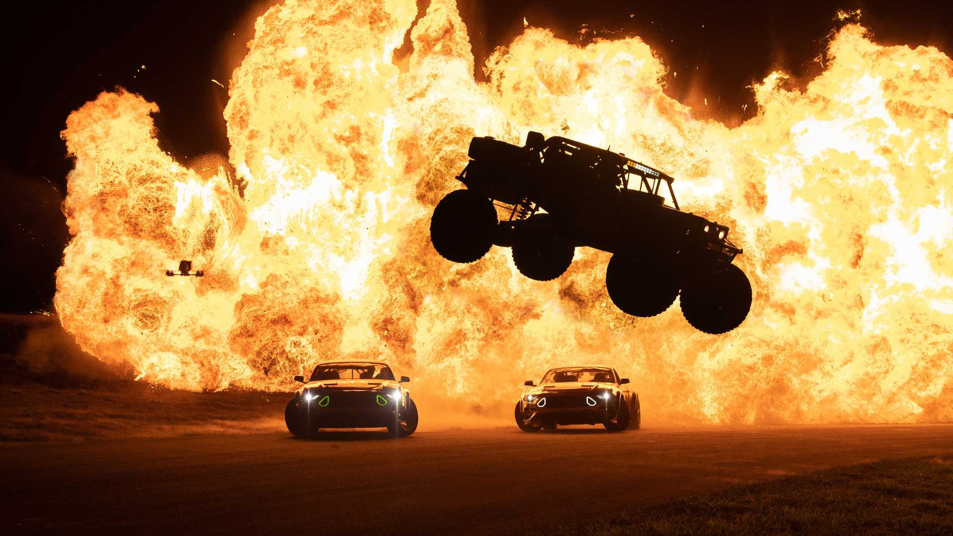 Vaughn Gittin Jr RTR Bomb Track Video Fireball