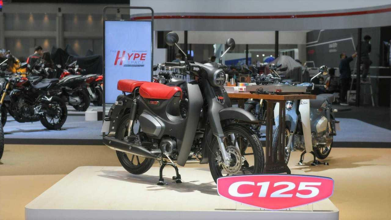 Honda Super Cub at 2021 Bangkok Motor Show