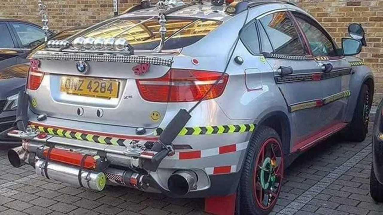 BMW X6 fail
