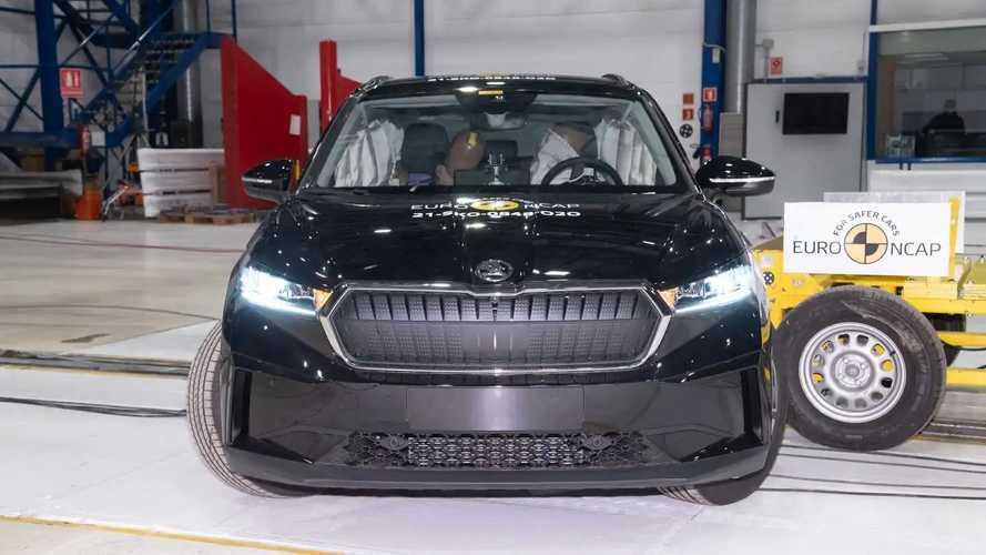 2021 Skoda Enyaq iV Euro NCAP Crash And Safety Tests